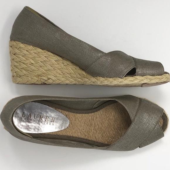 173ee10300ed Lauren Ralph Lauren Shoes - Lauren Ralph Lauren Cecilia Wedge Espadrilles